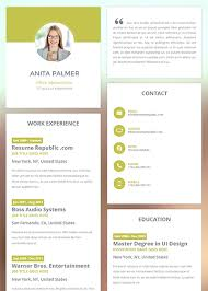 Resume Templates The Best Resume 2018 5 Outathyme Com