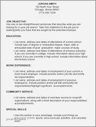 Resume Objective Examples List Fresh Resume Samples Career Objective