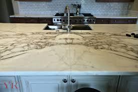 kitchen island and perimeter countertop
