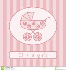 Announcement For Baby Girl Baby Girl Announcement Clipart