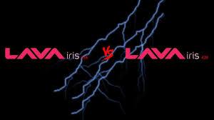 Lava Iris 356 vs Lava Iris 402 total ...
