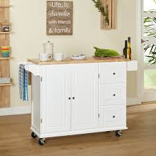 leaf kitchen cart: simple living aspen  drawer spice rack drop leaf kitchen cart