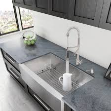black granite kitchen sink inch white fireclay farmhouse a stainless steel front porcelain home design faucet