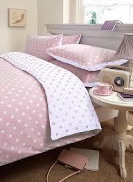 wonderful pink and white polka dot duvet cover with covers collection decoration ideas