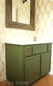 Paint For Laminate Cabinets Make Laminate Cabinets Look High End With Milk Paint Simply Swider