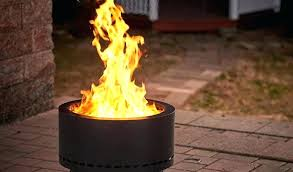 wood pellet fire pit flame genie how to build a smokeless elegant reviews g