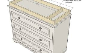 topper espresso wicker glass changing diaper hemnes agreeable baby for pad custom malm dresser any white