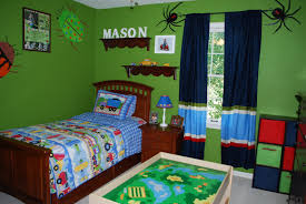 Attractive And Cheerful Wall Color Paint Ideas For Kidu0027s Rooms : Green Boys  Bedroom Decoration Inspiration