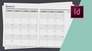 Designing A Calendar In Indesign How To Design A Planner In Indesign Calendar Design Part Two