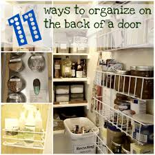 Organize Bedroom 11 Ways To Organize On The Back Of A Door Organizing Made Fun