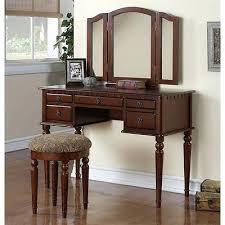 black makeup vanity with drawers. vanities: black vanity set with zebra bench powell antique mirror wood makeup drawers