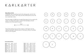 British Ring Size Chart Ring Sizing Guide Karl Karter