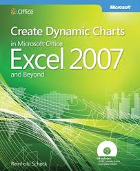 new book create dynamic charts in microsoft office excel 2007 and 9780735625440f