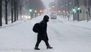 Resultado de imagen de Ola de frío ártico y nieve en Estados Unidos