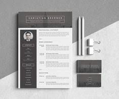 Modern Resume Template 43 43 Best Resume Images On Pinterest Cv Template Business Card Logo