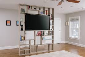 Hand Crafted Lexington Room Divider Bookshelf Tv Stand Corl Inside Tv And  Bookshelf (#6