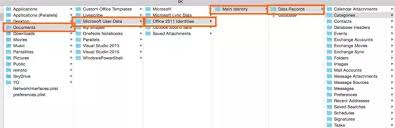 Outlook Mac Email Template Where Does Mac Outlook 2011 Store Its Data Files Quora