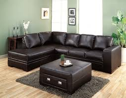 Living Room With Brown Leather Couch Furniture Genuine Leather Sofa For Excellent Living Room Sofas