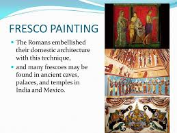 25 fresco painting the romans embellished their domestic architecture with this technique