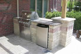 Cinder Block Outdoor Kitchen Fire In Your Outdoor Room Thoms Bros