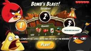 Angry Birds 2 Bomb's Blast Saturday WTF I Can't Blow The Last Pig - YouTube