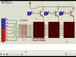 multiple segment display circuit diagram circuits multiple 7 segment display circuit diagram circuits edgefx