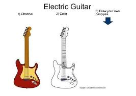 Small Picture Electric guitar coloring pages Hellokidscom