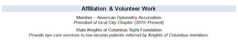 Optician Resumes Resume Tips For Opticians Optician Career Ihireoptometry