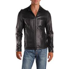 vince camuto mens fall lightweight leather jacket 0