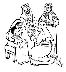 Kerst Kleurplaat Drie Wijzen