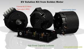 electric car kit electric motorcycle motor hpm10kw electric car motor
