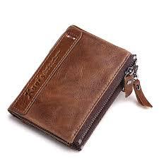 2017 vintage cow leather women wallet