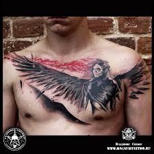 значение тату смерть фотографии татуировки смерть каталог тату