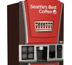 Seattle's Best Coffee Vending Machine For Sale Impressive Starbucks Inks Deal With Coinstar To Sell Coffee In Kiosks Shelby