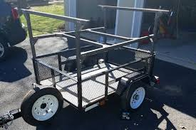 building a utility camping trailer