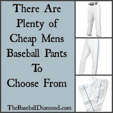 Cheap Mens Baseball Pants Will They Actually Fit Or Not