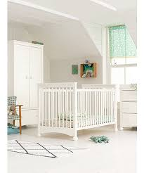 nursery white furniture. mothercare charleston 3piece nursery furniture set off white b