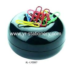 Magnetic Paperclip Holder Expert Magnetic Paperclip Holder Office Paper Clip Dispenser