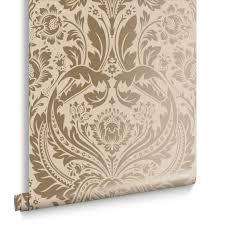 Desire Taupe Metallic Behang Graham Brown
