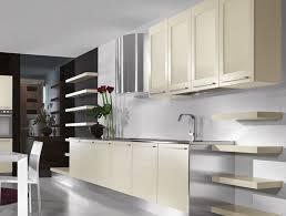 Modern Kitchen Cabinets - White contemporary kitchen