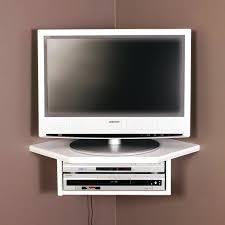 tv shelf wall image of corner wall mount shelf tv stand wall argos