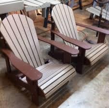 Polywood Fanback Adirondack Chair