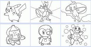 Give your kids something fun and free to do when they're bored when you use these pokemon color by number printable worksheets. Pokemon Coloring Book Coloring Pages 4 U