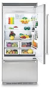 viking refrigerator inside. viking professional 5 series vcbb5363erss - interior view refrigerator inside
