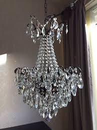 vintage 1950 basket fancy spider chandelier 9 tier beautiful chandelier