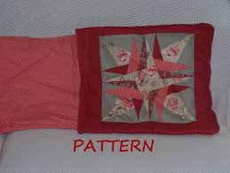 Quillow Pattern Inspiration Quilt Pillow Pattern Star Quillow PDF 48 Etsy