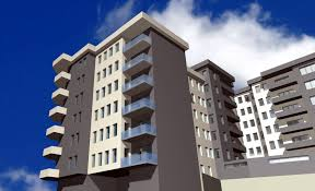 Modern Apartment Building And Modern Apartment Building Modern - Modern apartment building facade