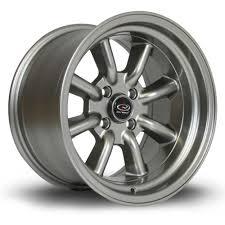 rota wheels 4x100. 4x rota rkr steel grey alloy wheels 15x8\ 4x100