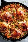 asian chicken   rice bake