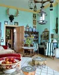 Decorations Bohemian Decorating A Eccentric English Style
